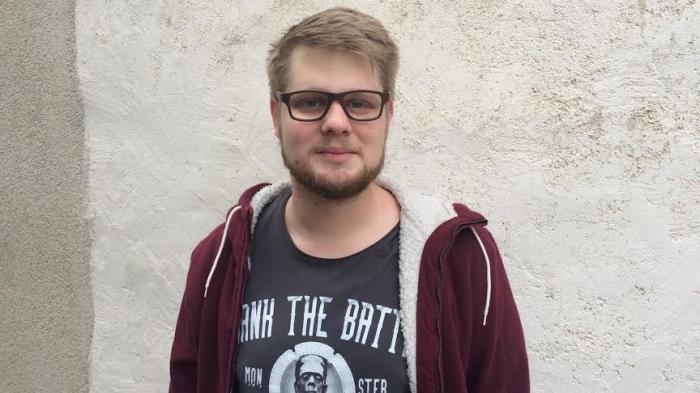 Johannes Millius, Regisseur und Projektleiter des Jungen Visper Theater.